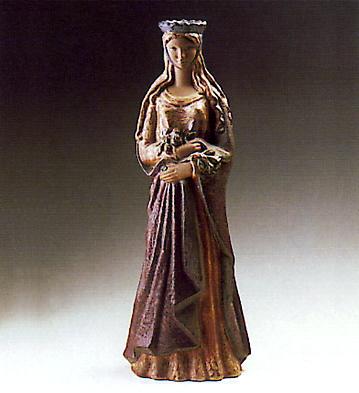 St. Elizabeth Of Hungary Lladro Figurine