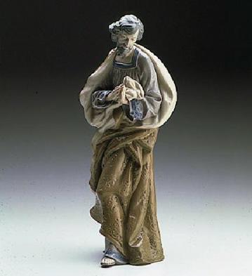 St. Joseph-white Lladro Figurine
