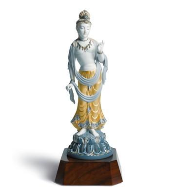 Standing Buddha Lladro Figurine