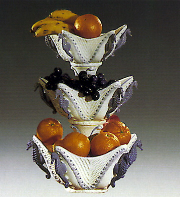 Star Fruit Bowl 3 Level Lladro Figurine