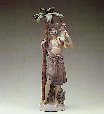 St.cristobal Lladro Figurine