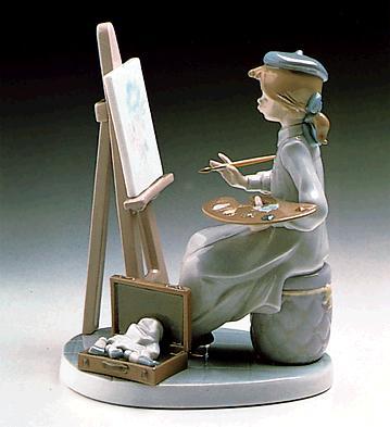 Still Life Lladro Figurine