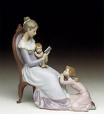 Story Hour Lladro Figurine