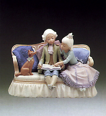 Story Time Lladro Figurine
