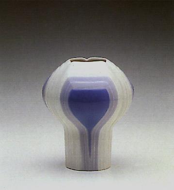 Striped Clover Vase Lladro Figurine