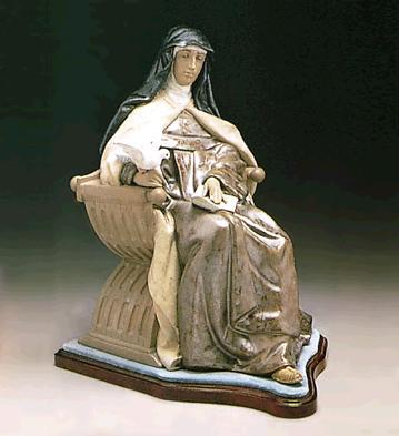 St.theresa (l.e.) (b) Lladro Figurine