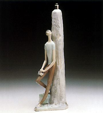 Student (lamp) Lladro Figurine