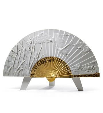Summer Fan Lladro Figurine