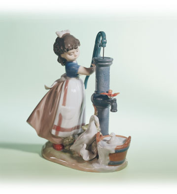 Summer On The Farm Lladro Figurine