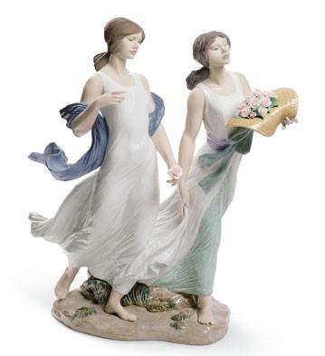 Summer Roses Lladro Figurine