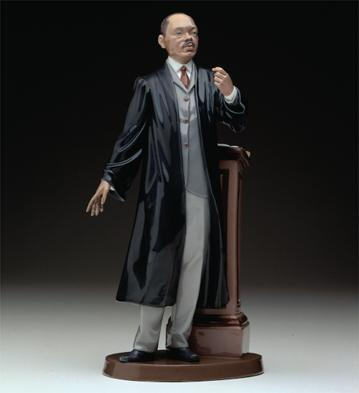 Sunday Sermon Lladro Figurine