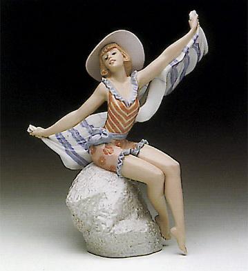 Sunning In Ipanema Lladro Figurine