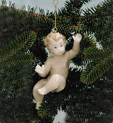 Surprised Cherub Lladro Figurine