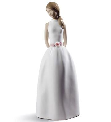 Sweet Adolescence Lladro Figurine
