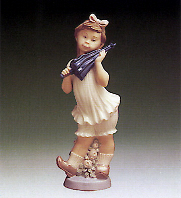 Sweet Girl Lladro Figurine