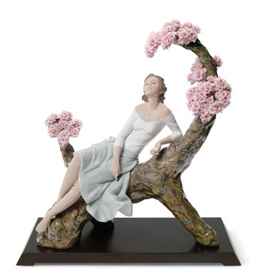 Sweet Scent Of Blossoms Lladro Figurine