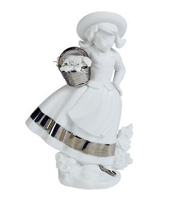 Sweet Scent (re-deco) Lladro Figurine