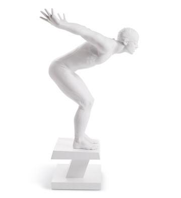 Swimmer Lladro Figurine