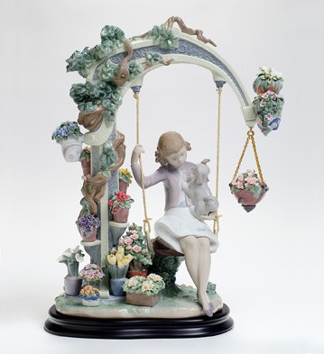 Swing Into Spring Lladro Figurine