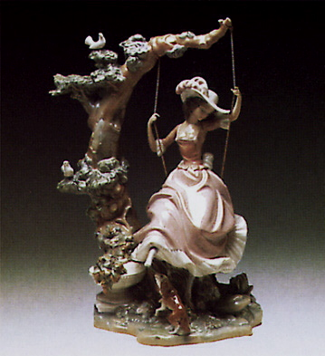 Swinging Lladro Figurine