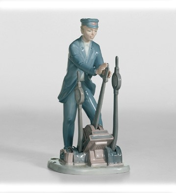 Switch Operator Lladro Figurine
