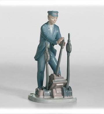 Switch Operator Lladro Figurine