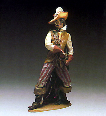 Swordsman Lladro Figurine