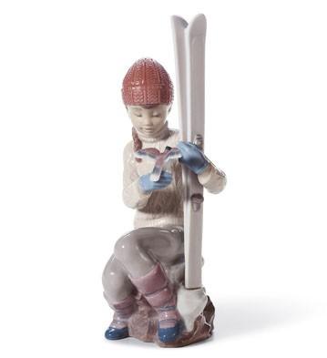 Take A Breath Lladro Figurine