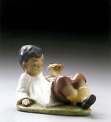 Taking Time Lladro Figurine