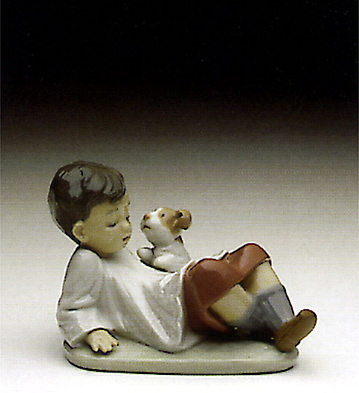 Taking Time Lladro Figurine