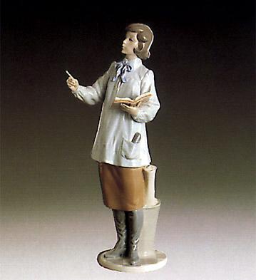 Teacher Woman Lladro Figurine