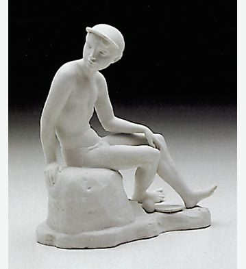 Teenage Boy Lladro Figurine