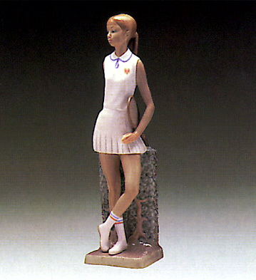 Tenis Player Lladro Figurine
