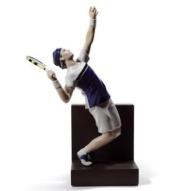 Tennis Ace Lladro Figurine