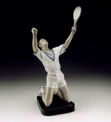 Tennis Champion (b) Lladro Figurine