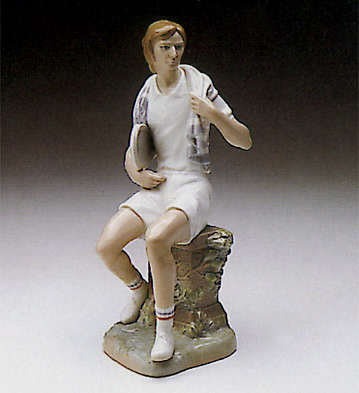 Tennis Player, Boy Lladro Figurine