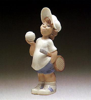 Tennis Player Puppet Lladro Figurine