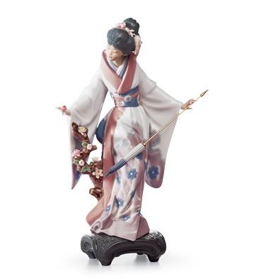 Teruko Lladro Figurine