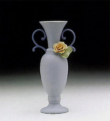 Teumosin Vase, Blue Lladro Figurine
