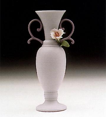 Teumosin Vase, Violet Lladro Figurine