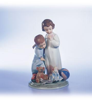 Thank You Santa! Lladro Figurine