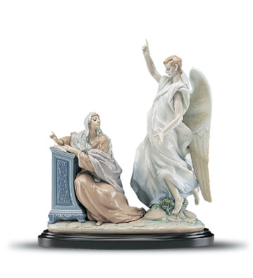 The Annunciation (leb) Lladro Figurine