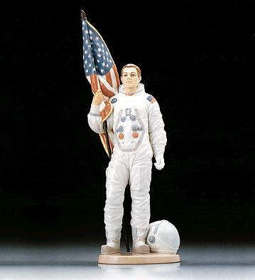 The Apollo Landing (l.e.) Lladro Figurine