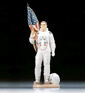 The Apollo Landing (l.e.) Lladro Figurine
