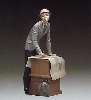 The Architect Lladro Figurine