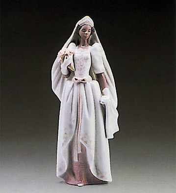 The Black Bride Lladro Figurine