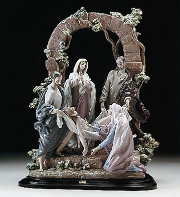 The Burial Of Christ Lladro Figurine