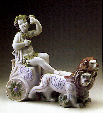 The Carriage Of Bacchus Lladro Figurine