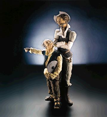 The Course Of Adventure ( Lladro Figurine