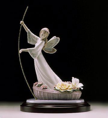 The Enchanted Lake (leb) Lladro Figurine